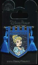 Princess Tapestry Cinderella Banner Tassel Disney Pin 121174
