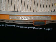 Grand Banks Bronze Step Plate