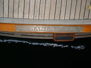 Grand Banks Bronze Step Plate