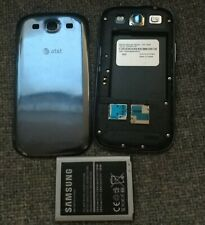 Samsung Galaxy S III SGH-I747 16GB Pebble Blue AT&T B+ Shape