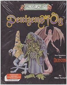 AD&D: Denizens of Og - Role Aids -  DM's Aid Demons Supplement - Shrink Wrapped