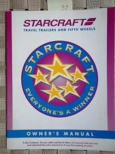 StarCraft Travel Trailer Fifth Wheel Owners Manual Vintage 1997 Americana 32