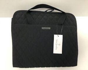 NWT Vera Bradley Classic Black Hanging Travel Organizer Quilted Microfiber - $85