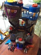 Fisher Price Imaginext Batman light up Batcave Toy and figures