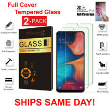 2-Pack Tempered Glass Clear HD Screen Protector  For Samsung Galaxy A10 A10E