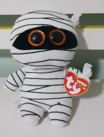 Ty Beanie Babies Boos 37234 Mummy the White Mummy Halloween Boo 15CM!
