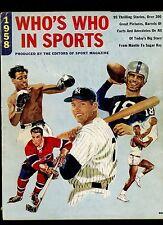 1958 Who's Best In Sports Magazine Mickey Mantle Henri Richard Oscar Robertson