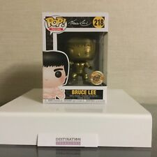 Anime Expo 2018 BAIT Bruce Lee Funko GOLD EDITION Vinyl Exclusive 218 NIB