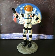 Mattel Major Matt Mason Astronaut 1966 Helmet  Early Rare White Rubber Version