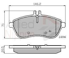 Allied Nippon Front Brake Pad Set ADB01786  - BRAND NEW - 5 YEAR WARRANTY