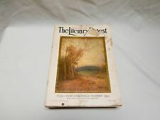 November 4, 1922 The Literary Digest Magazine Historical & Political Events/Ads