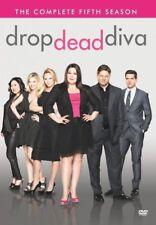 Drop Dead Diva Season 5 Fifth TV Series Region 4 New DVD (3 Discs)