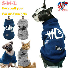 Pet Clothes Knitted Puppy Dog Jumper Sweater For Small Dogs Coat Cat Winter Warm