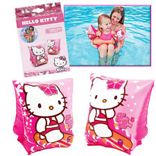 Hello Kitty Armbands Inflatable Swimming Children Kids Safety Pool Swim Pink