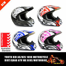 Unisex Youth Motorcycle Helmets