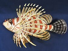 "Lion Fish Tropical Reef 8"" Wall Plaques Nautical Home Decor (C)"