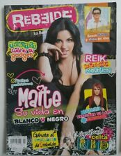 REVISTA REBELDE rbd 21 maite