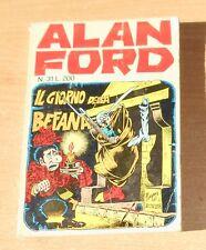 EDITORIALE CORNO  SERIE  ALAN FORD  N°  31   1972   ORIGINALE !!!!!