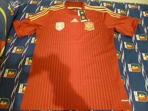 Authentic Adidas Espana Spain Spagna Jersey Camiseta Playera Large Grande BNIB