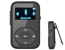 Clip MP3 Bluetooth Music Player 8GB Mini Sport Running Black-X26
