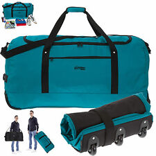 Trolley Southwest Light Weight XXL 80 cm faltbar Reisetasche Bag Türkis +Beutel