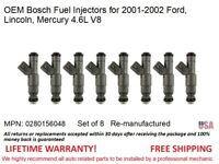 Flow Matched Fuel Injectors # 0280156048 Bosch Ford Motorsport 4.6L V8 8