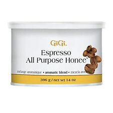 GiGi ESPRESSO ALL PURPOSE HONEE WAX 14 oz (396 g) Hair Removal Professional Use