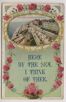 Lancashire postcard - North Shore Parade, Blackpool - RP - Novelty