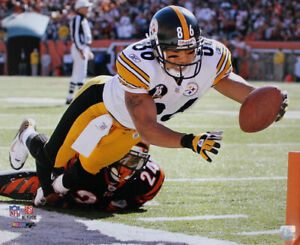 Hines Ward Unsigned Pittsburgh Steelers 16x20 Photo 12770 PF