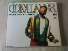 OMAR - DON'T MEAN A THING - 4 TRACK UK CD SINGLE - 1991