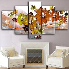 mural crystal flower HD inkjet printing sofa wall  canvas oil painting digital