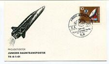 1966 Projektierter Junkers Raumtransporter TR-8-1-01 Heidenberg Deutsche SPACE