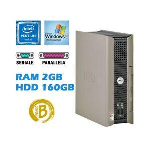DELL OPTIPLEX GX620 USFF PENTIUM D RAM 2GB HDD 160GB RS232 WINDOWS XP PRO.