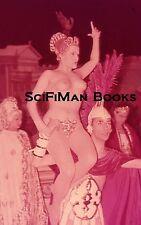 Vintage 35mm Slide France Casino De Paris Roman Orgy Nude Woman Breasts 1960s?