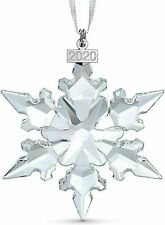 Swarovski Crystal Large Annual Edition Christmas Ornament 2020 Snowflake 5511041