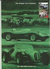 KOUGAR CAR COMPANY KOUGAR GTR AND CHIMERE KIT CAR  SALES BROCHURE FOR 1997