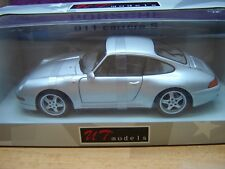 Porsche 911 (993) Carrera S (2S/4S) silber/silver NEU Rare Selten UT OVP 1:18