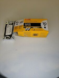 New Genuine Kodak 10B 10 Black Ink Cartridge 8240236 New In Box 1 only
