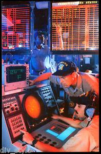CDC Watch, USS Ranger CV-61 postcard US Navy ship aircraft carrier