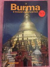 Burma: A Travel Survival Kit,Tony Wheeler- 086442017X