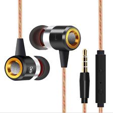 Extra Bass In-Ear-Kopfhörer & In-Ear Stereo Sport Ohrhörer/Earphones (Schwarz)