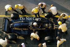 Elio de Angelis JPS Lotus F1 temporada 1983 fotografía 1