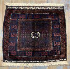 Wonderful Old Antique Handmade Baluchi Bagface 2.2x2.5 Ft