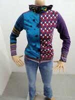 Felpa DESIGUAL Donna Taglia Size 13/14 Sweater Woman Pull Femme P7010