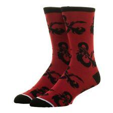 Dungeons & Dragons Ampersand Logo Adult Crew Socks