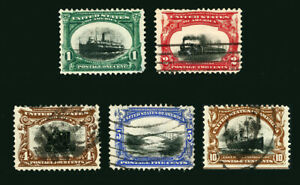 #294 / #299 1901 EFOs Pan-American EXPO Issues with Center Shift Errors Used