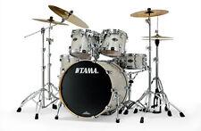 Tama starclassic birch 5 piece drumset In Diamond Dust