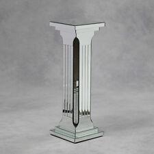 Venetian Mirror Glass Column / Pedestal / Table / Display - 91 x 31 x 31cm
