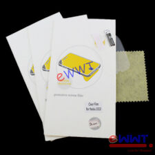 3x Clear Screen Protector Film +Cloth Set for Nokia 3310 2017 Non-3G ver ZVSQ241