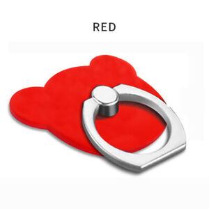 Tablet iPad Mobile phone Fix Bracket Mount Holder Metal Ring Hook Bear Shape